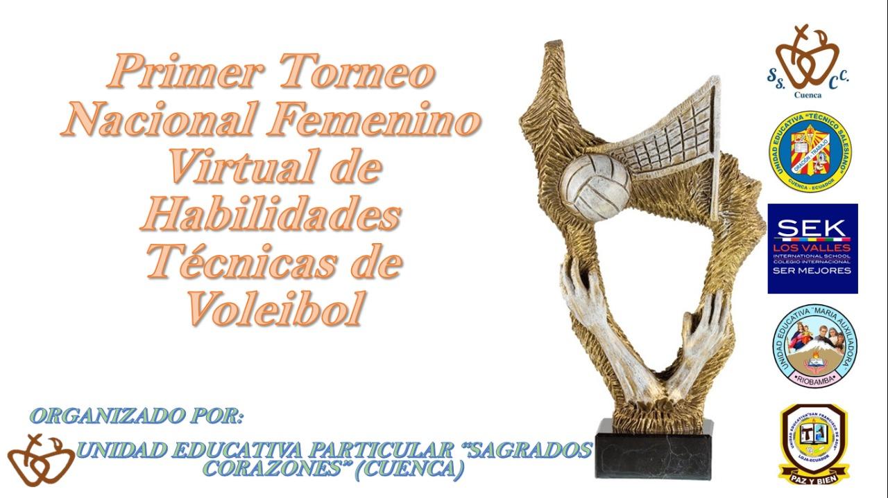 El talento salesiano se demostró en  el primer Torneo Virtual Nacional Femenino de Habilidades Técnicas de Voleibol